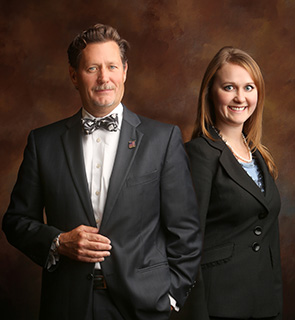 Chris and Margot Pickering of the Pickering Law Firm - Business Litigation and Settlements